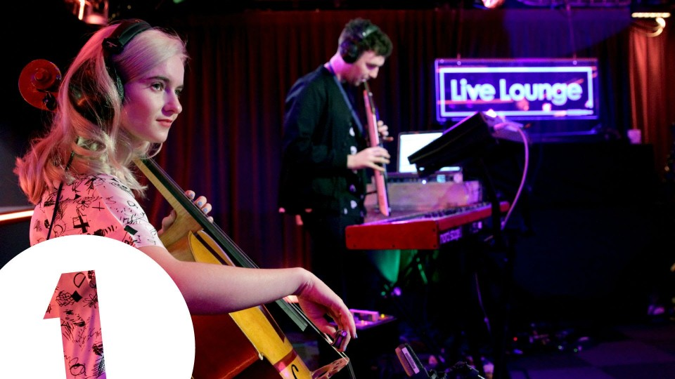 Clean Bandit & Jess Glynne cover Jungle's Busy Earnin' in the Live Lounge