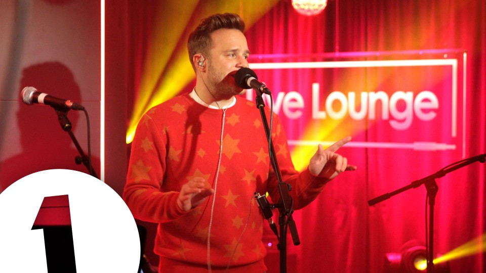Olly Murs covers Wham!'s Last Christmas in the Live Lounge