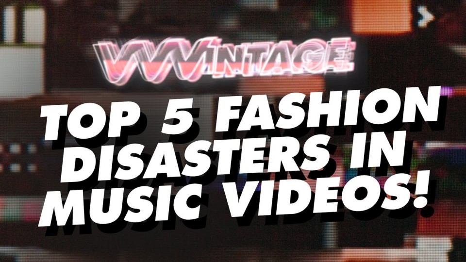 VVVintage – Top 5 Fashion Disasters in Music Videos! (ft. MC Hammer, Christina Aguilera)