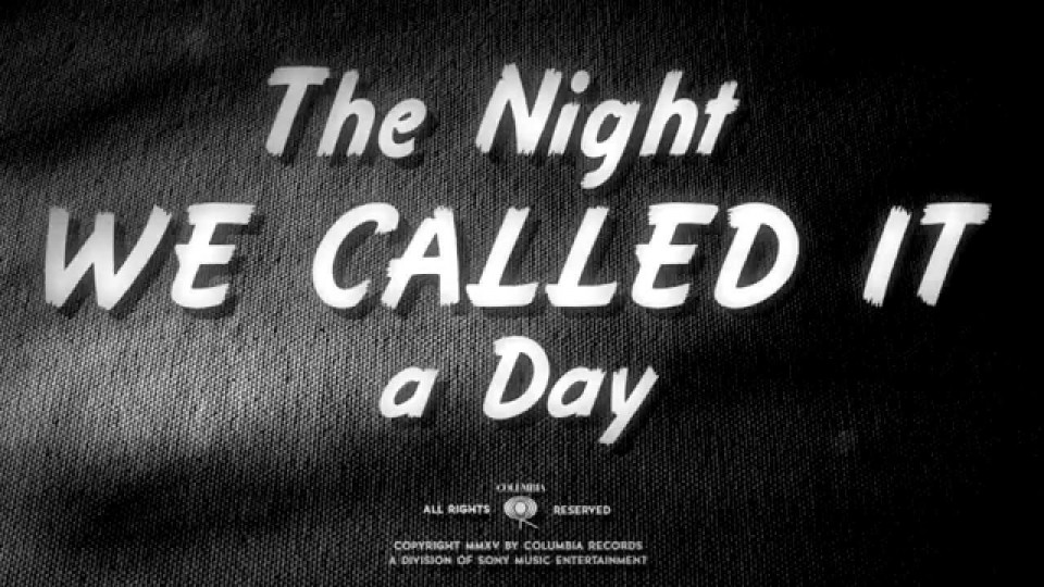 Bob Dylan – The Night We Called It A Day