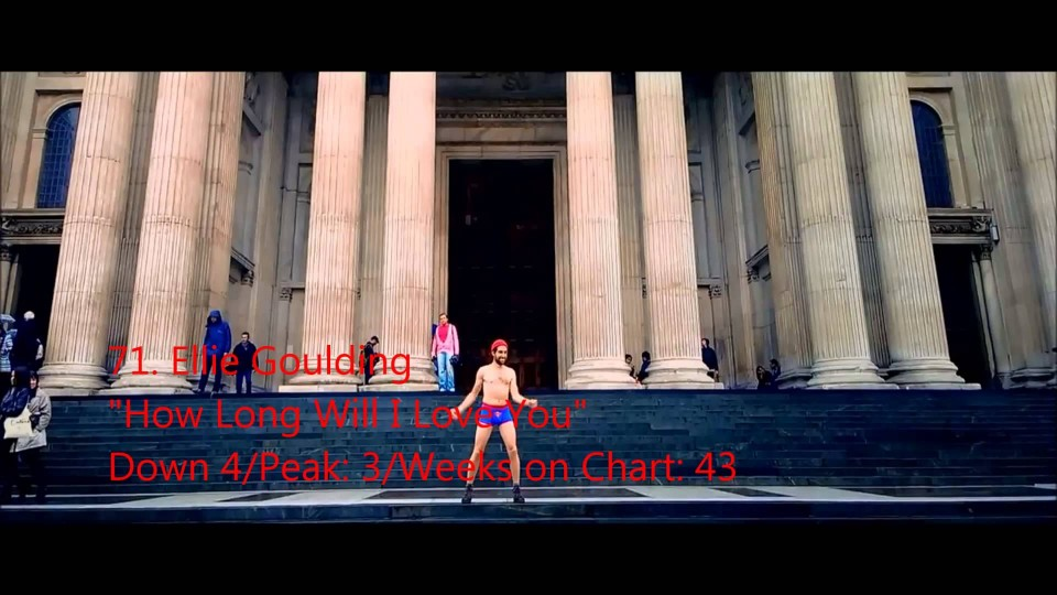 Official UK Music Charts Top 100 – Week ending 23rd August 2014 – #51 to #100