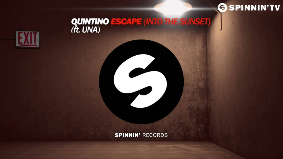 Quintino – Escape (Into The Sunset) (ft. Una) [Available March 23]