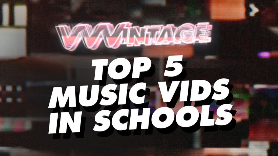 VVVintage – Top 5 Music Vids in Schools! (ft. Britney Spears, Fall Out Boy, OutKast, Good Charlotte)