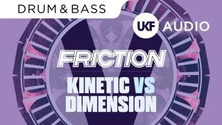 Friction vs Dimension – Kinetic