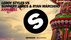 Leroy Styles VS Sunnery James & Ryan Marciano – Karusell (Available April 24)